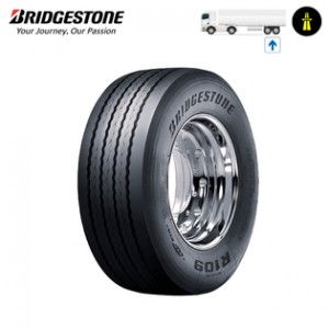 385/55R22.5 R109 ECOPIA 160/158K [TRAILER LONG] [3156] DOT 2011 OPONA BRIDGESTONE